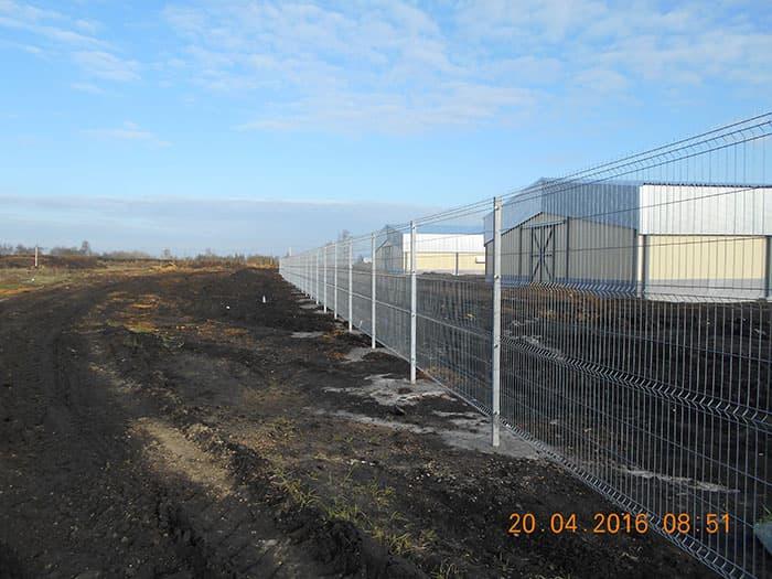 металлический забор с полимерным покрытием 3d-perimetr.ru