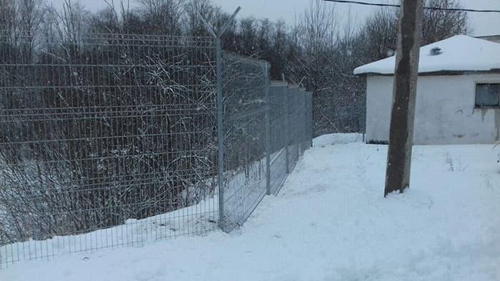 оцинкованный забор properimetr.ru
