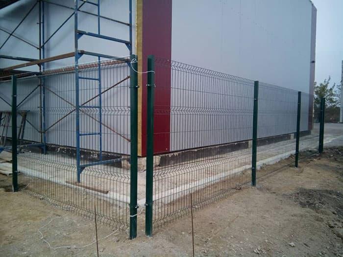 Секционный забор 3d-perimetr.ru