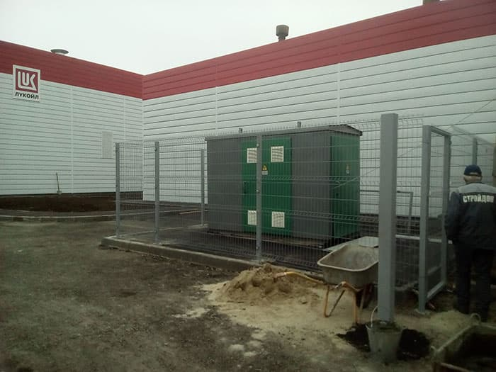 забор секционный из сетки properimetr.ru