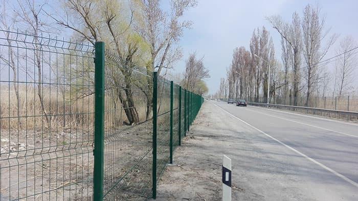 металлический забор под ключ properimetr.ru