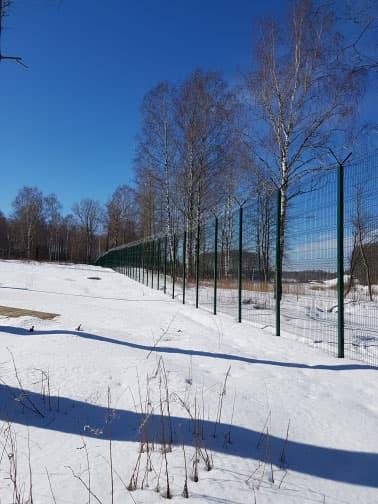 3d забор оцинкованный www.3d-perimetr.ru